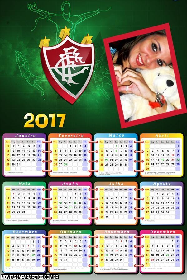 Calendário 2017 Fluminense