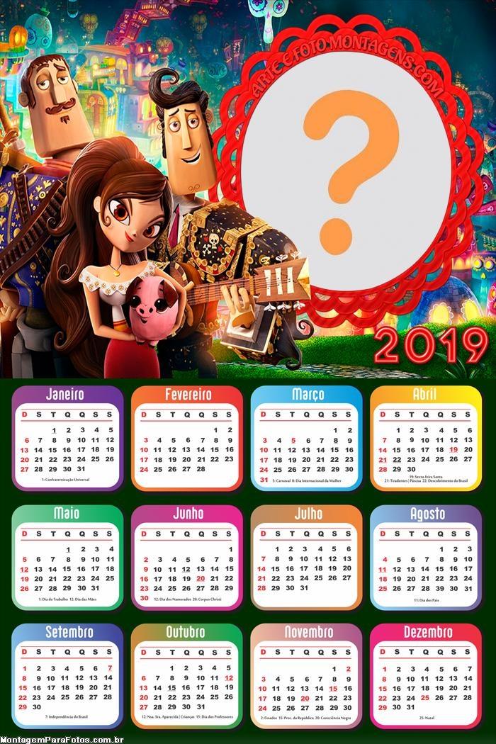 Calendário 2019 Festa No Céu