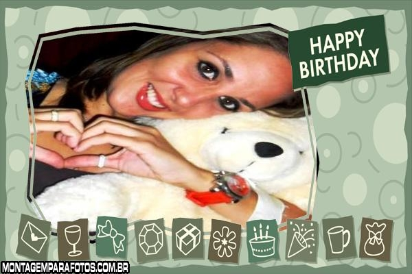 Aniversário Happy Birthday 2