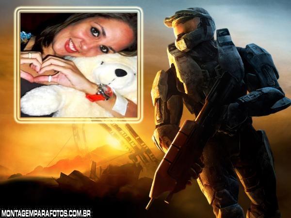 Personagem do Jogo Halo