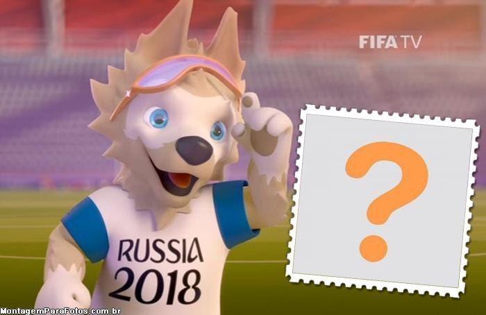 Desenho Mascote Copa Rússia
