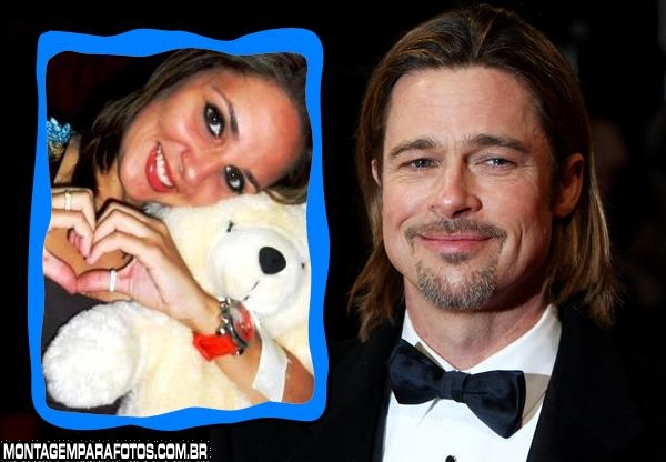Moldura Brad Pitt