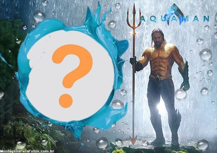Aquaman Montagem de Foto