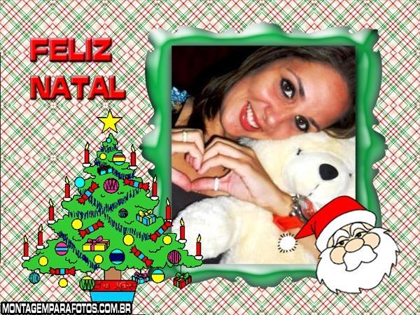 Árvore e Papai Noel de Natal