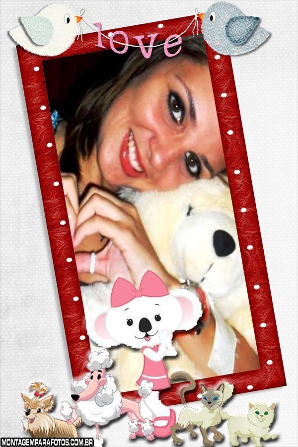 Moldura Love Lilica Ripilica