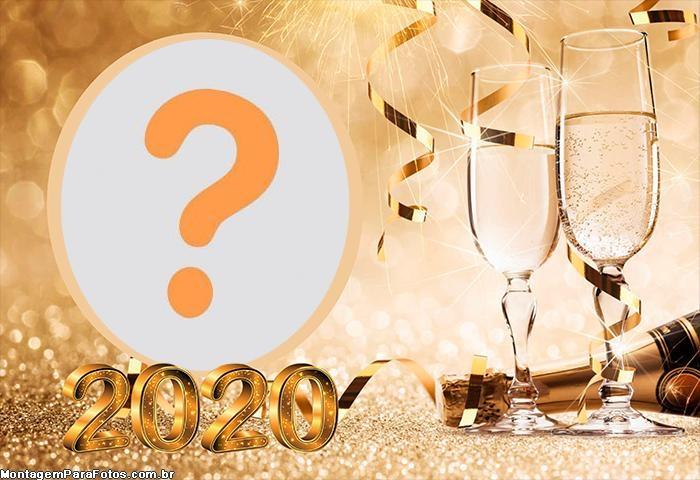 Emoldurar Foto de Ano Novo 2020