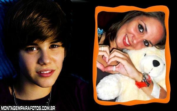 Justin Bieber FotoMoldura