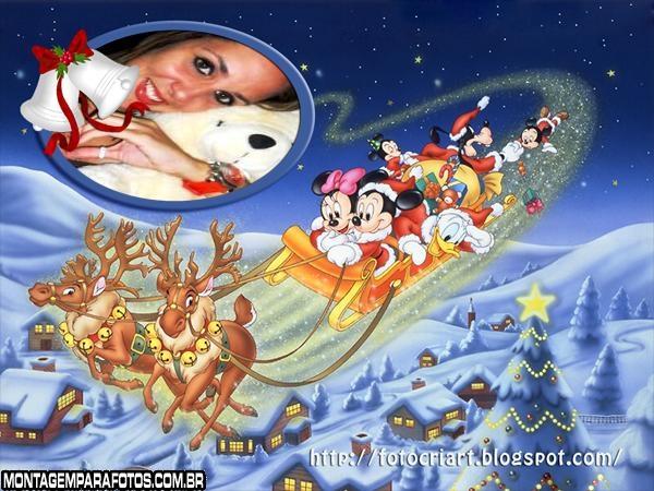 Moldura Natal da Disney
