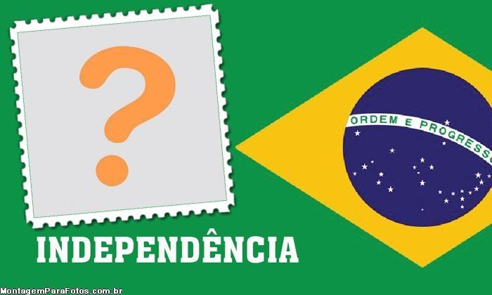 Emoldurar Bandeira do Brasil Indenpendência