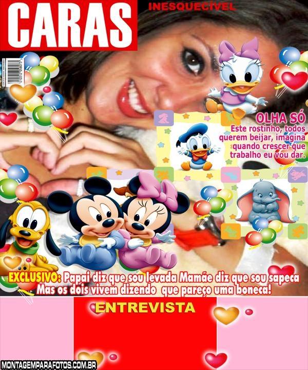 Convite Disney Revista Caras