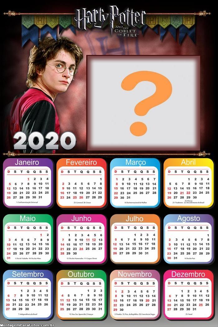 Foto Calendário 2020 do Harry Potter