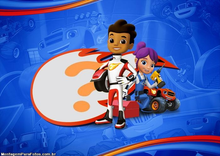 Grande Blaze and the Monster Machines