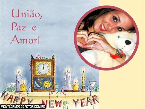 União, Paz e Amor Ano Novo