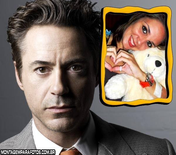 Moldura Robert Downey Jr