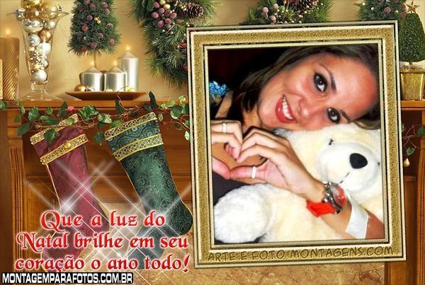 Que a luz do Natal Brilhe em Seu Coração o Ano Todo!
