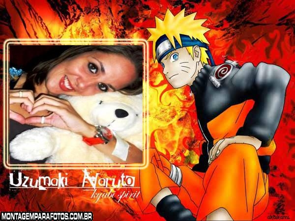 Montagem Foto Naruto