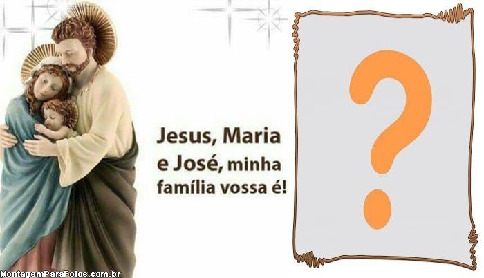 Minha família vossa é Moldura