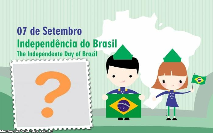 Moldura The Independence Day of Brazil