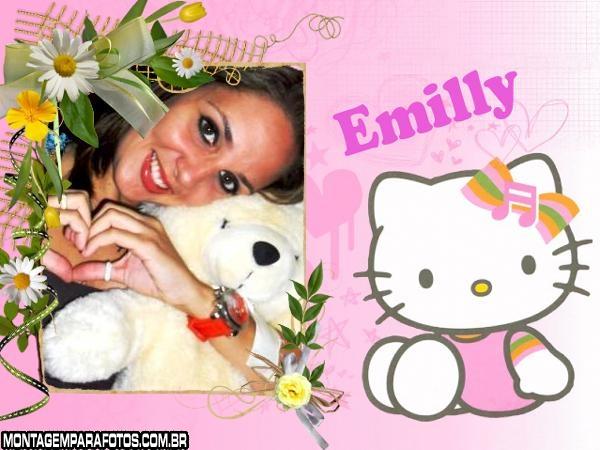 Moldura Hello Kitty Baby