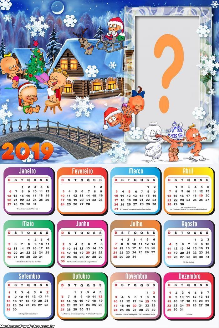 Calendário 2019 Natal Baby