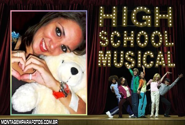 Turma High School Music Moldura