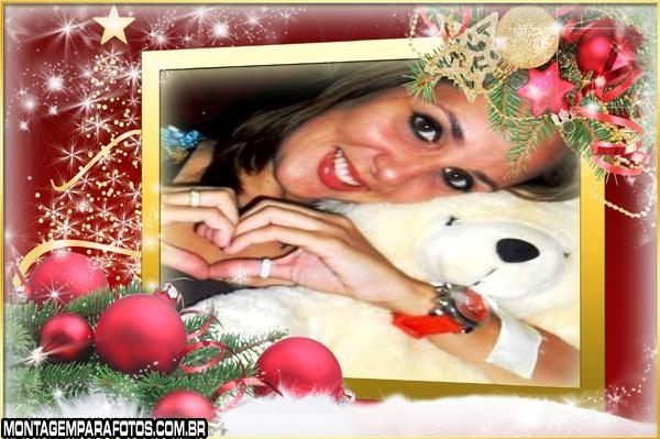 Moldura Desejo de Natal