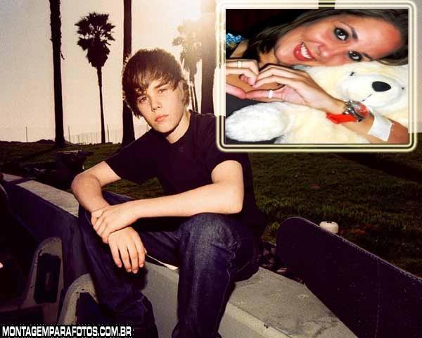 Moldura Justin Bieber Skate