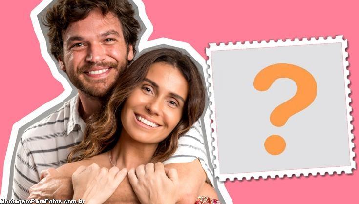 Emilio e Giovanna Antonelli FotoMoldura
