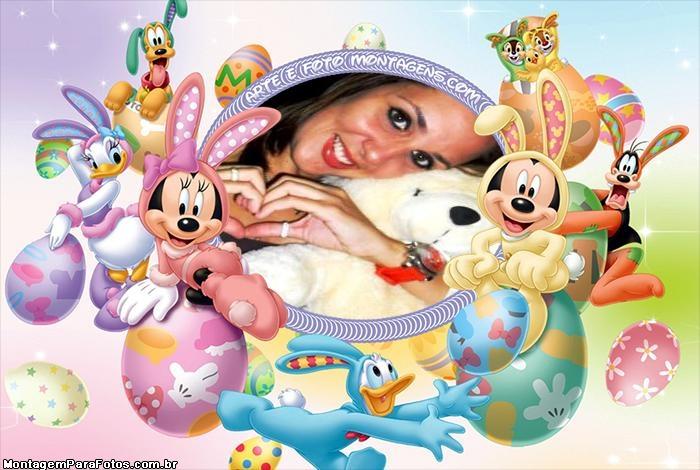 Páscoa da Disney FotoMoldura