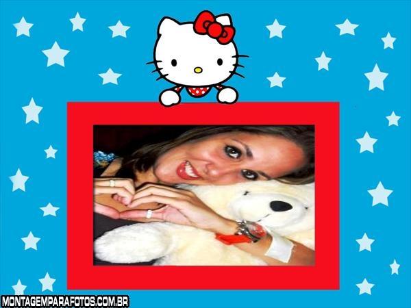 Foto Montagem Hello Kitty