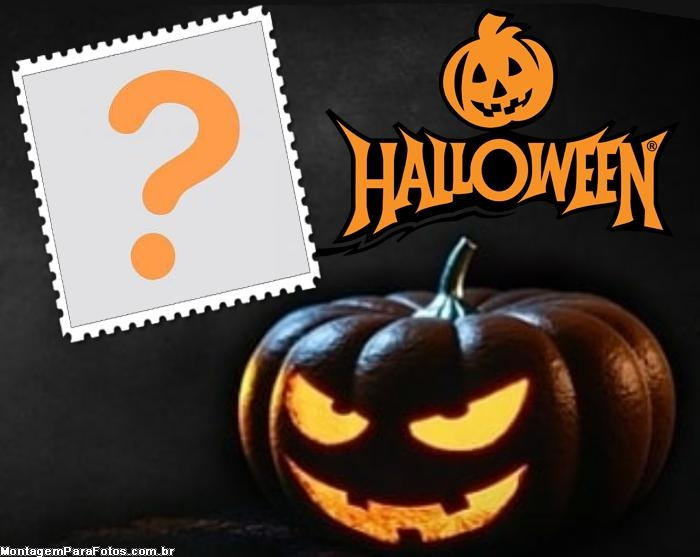 Abóbora de Halloween Moldura