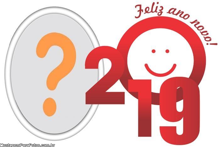 Feliz Ano Novo 2019 Moldura
