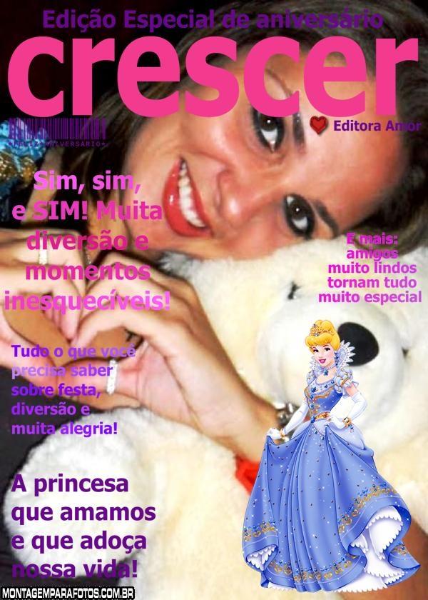 Convite Aniversário Cinderela