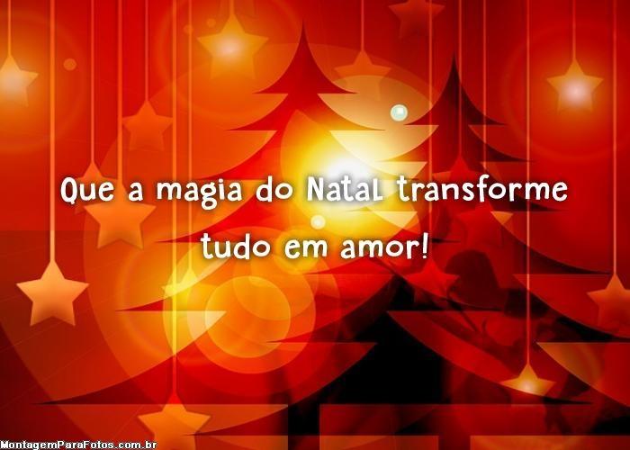Magia do Natal transforme
