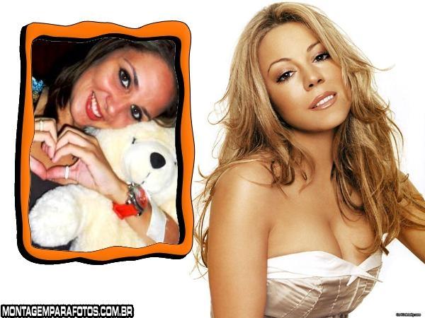 Moldura Mariah Carey