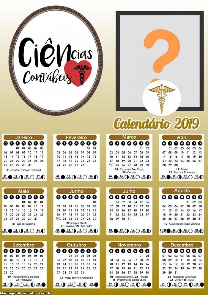Calendário Ciências Contábeis 2019