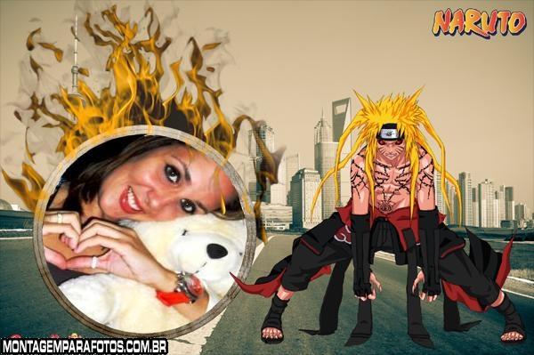Moldura Naruto Hokage