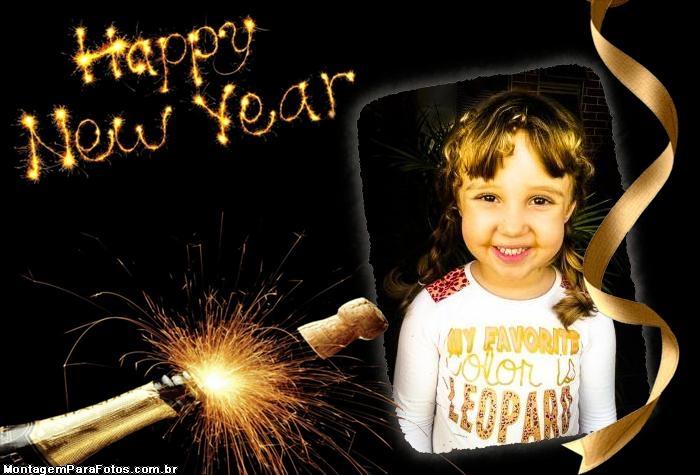 Colagem de Foto Happy New Year