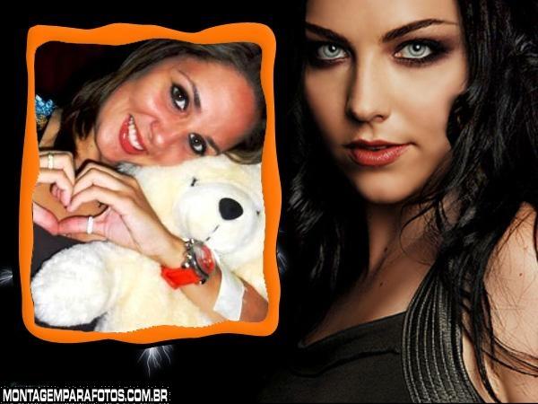 Moldura Cantora Evanescence