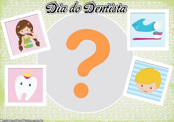 Dia do Dentista Moldura