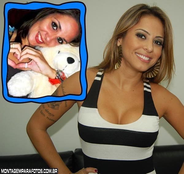 Moldura Alinne Rosa