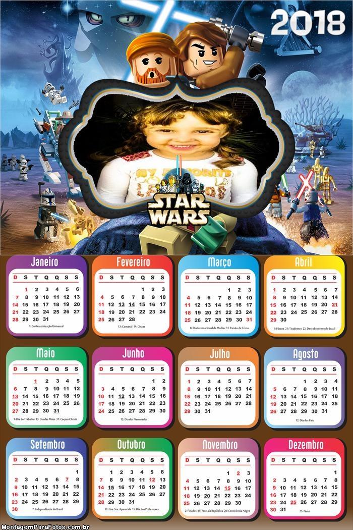 Calendário 2018 Lego Star Wars
