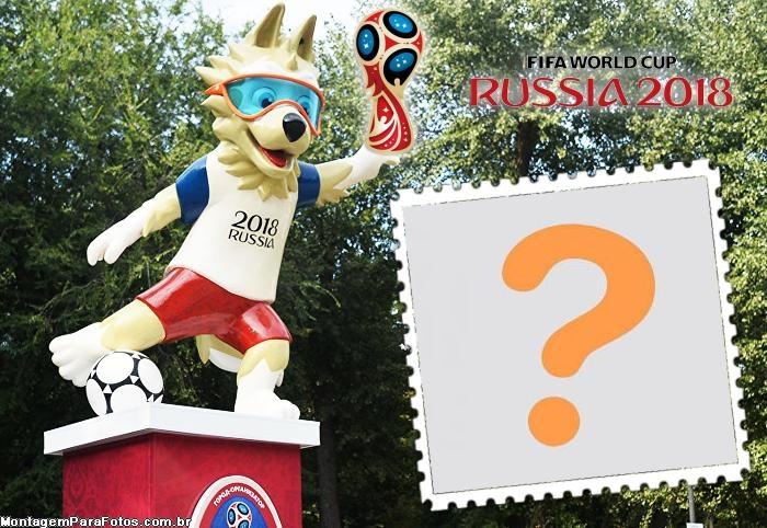 Estátua Mascote Copa da Rússia 2018