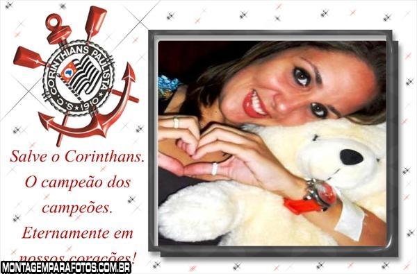 Moldura Salve o Corinthians
