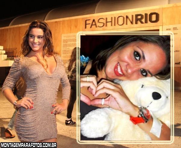 Ex-BBB Laísa Fashion Rio