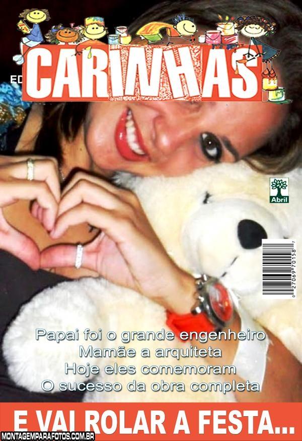 Revista Carinhas Aniversário