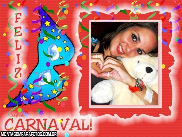 Feliz Carnaval com Máscara