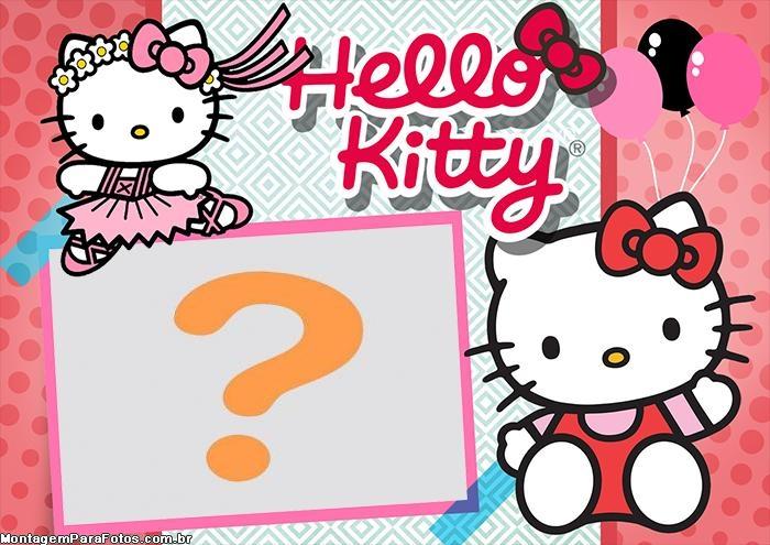 Hello Kitty Colagem de Foto