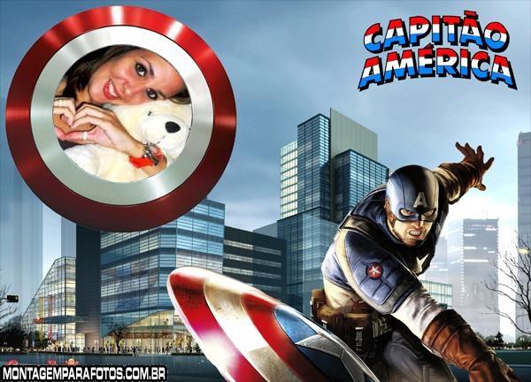 Capitão América Online Moldura
