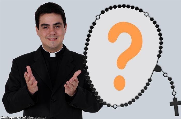 Moldura Padre Robson Trindade